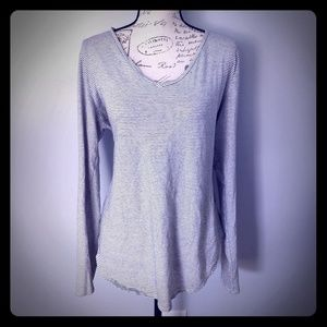 Women's Old Navy v-neck cotton long sleeve shirt